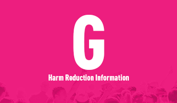 G harm reduction poster